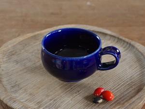 瑠璃釉ティーカップ