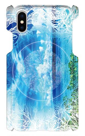 【送料無料】MaruTangle iPhone Xケース Corridor of Seaモデル