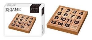 かつのうパズル 15ゲーム
