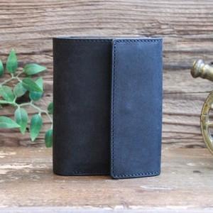 Folded Wallet / BLACK (右利き用)