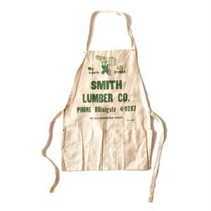 """"""" SMITH LUMBER CO."""" Cotton Apron"""