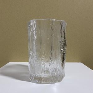 stump flower vase