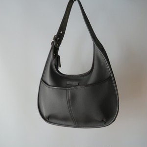 Coach nylon shoulder bag / gray