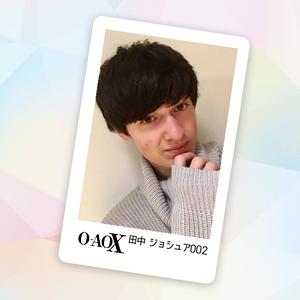 男劇団 青山表参道X 田中ジョシュア 3rd Fan Event 公式FANDA CARD
