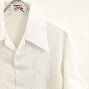 LUZON : welt pocket guayabera shirt (used)