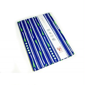 ご朱印帳 ネギストライプ(風呂敷和小物) tgi001-1706