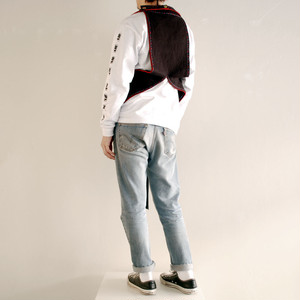 "『Dr.NOKI』 1off ""SANDWICH"" collection waist coat"