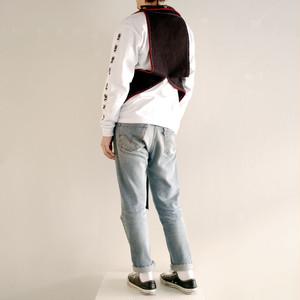 "Dr.NOKI 1off ""SANDWICH"" collection waist coat"