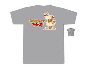 【グレー】ロゴ入りTシャツ(第一弾お申込締切:6月10日)