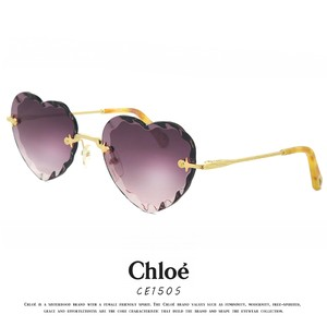 クロエ サングラス CE150S 840 55mm chloe ce150s レディース 女性用 ハート型 レンズ UVカット