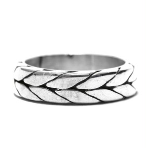 Vintage Sterling Silver Mexican Weave Ring