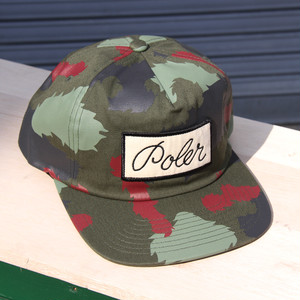 【最終セール40%OFF】POLeR OUTDOOR STUFF Unstructured Snapback / Green Camo
