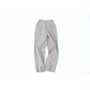 BURBERRY gray wool slacks