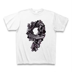 9metal Tシャツ(ホワイト)