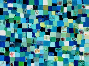 油彩画*ゆきいろ 油彩*キャンバス* 2005