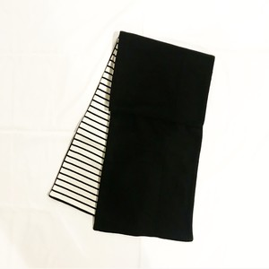 MIX FLEECE MUFFLER(BLACK/2)