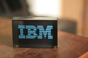IBMの置物