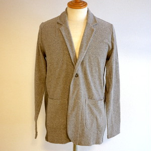 Jacquard Pile Jacket Gray