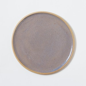 plate large〈bluegray〉