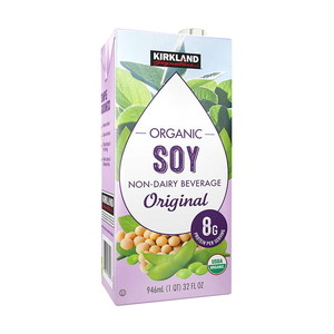 コストコ Kirkland Signature オーガニック豆乳オリジナル946ml1本 | Costco Kirkland Signature Plain ORG Soy milk 946ml 1item