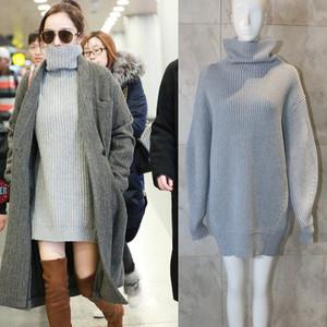 エレガント 芸能人愛用 衣装 女性 セーター  ウール タートルネック プライマーシャツ 大人気 心地良い