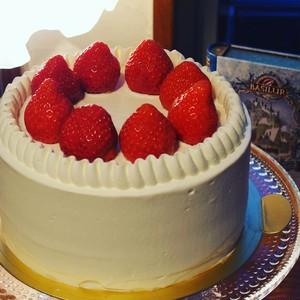 苺の生ケーキ4号