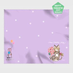 【HappyUnbirthday!お花屋さん】マイクロファイバークロス