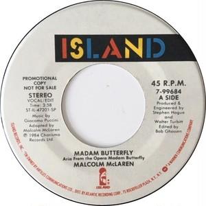 Malcolm McLaren – Madam Butterfly