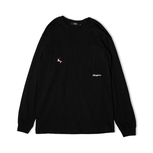DET L/S Pocket Tee (Black)