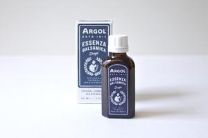 ARGOL ESSENZA BALSAMICA 50mL  /  アルゴール エッセンザバルサミカ 50mL