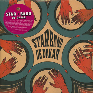 "【ラスト1/LP】Star Band de Dakar - Star Band de Dakar:Psicodelia Afro ""Cubana de Senegal"""