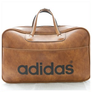 1970s Adidas Peter Black Ltd Boston Bag Made In England/BG_544