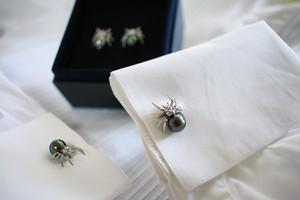 Spider Cufflinks SV