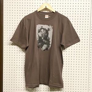 COUNTDOWN T☆B  「Amabie」(チャコール)Tシャツ (Lサイズ)①