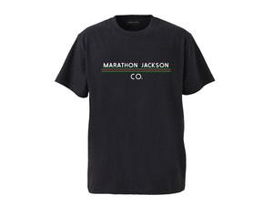 T-SHIRT M319102-MIX.NAVY / Tシャツ ミックスネイビー MIX NAVY  / MARATHON JACKSON マラソン ジャクソン