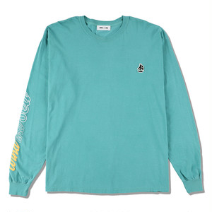 WDS(sail-boat) L/S T-SHIRT (WDS-20A-CS-02) WIND AND SEA GREEN