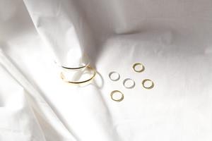 """receiving mode"" simple bangle【silver】"