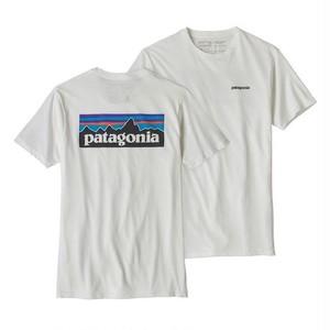 patagonia / パタゴニア/ メンズ・P-6ロゴ・オーガニック・Tシャツ/39151/WHITE/WHI/パタゴニア