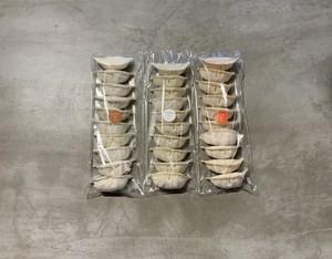 GYOUZA&トマト&キノコのセット(10個×3)(ぎょうざ、餃子)