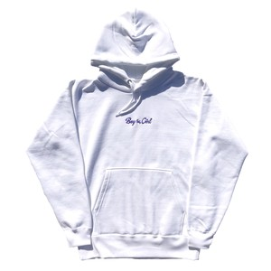 Boy≒Girl Logo Hoodie(Purple)