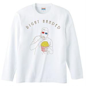 [ロングスリーブTシャツ] right handed