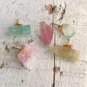 Tourmaline post earrings