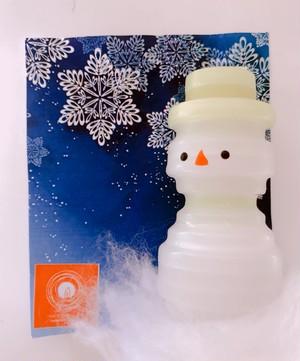 手作りキャンドル【雪だるま】冬限定!