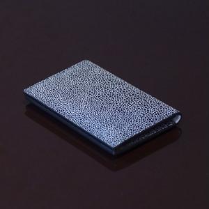 ARI GREY / PINETTI DOUBLE BUISINESS CARD HOLDER(アリ グレー / ピネッティ ダブルビジネスカードホルダー)