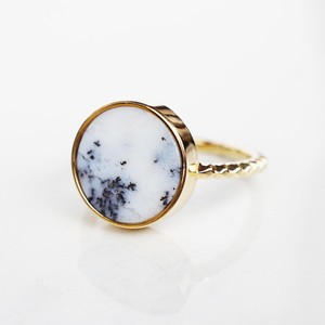 Agate Ring (Round)