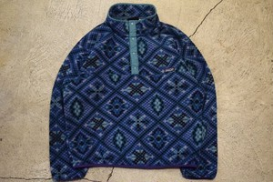 USED 90s patagonia Synchilla Snap-T -Large F0697