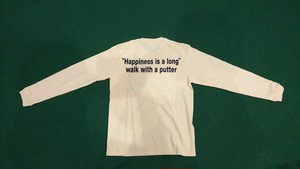 """1ONEEIGHT8 """"Hapln is a long""""ロゴ 長袖Tシャツ (イエロー)"""