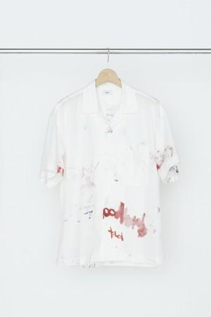 Allege Painting S/S Shirt White AL20S-SH10