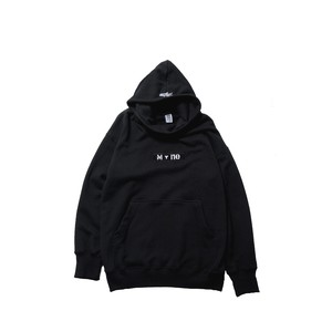 MY+ne MAGIC TAPE HOODIE / BLACK
