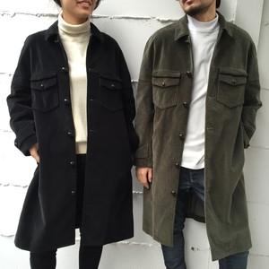 corduroy w poket coat : TA63-FA025-16AW